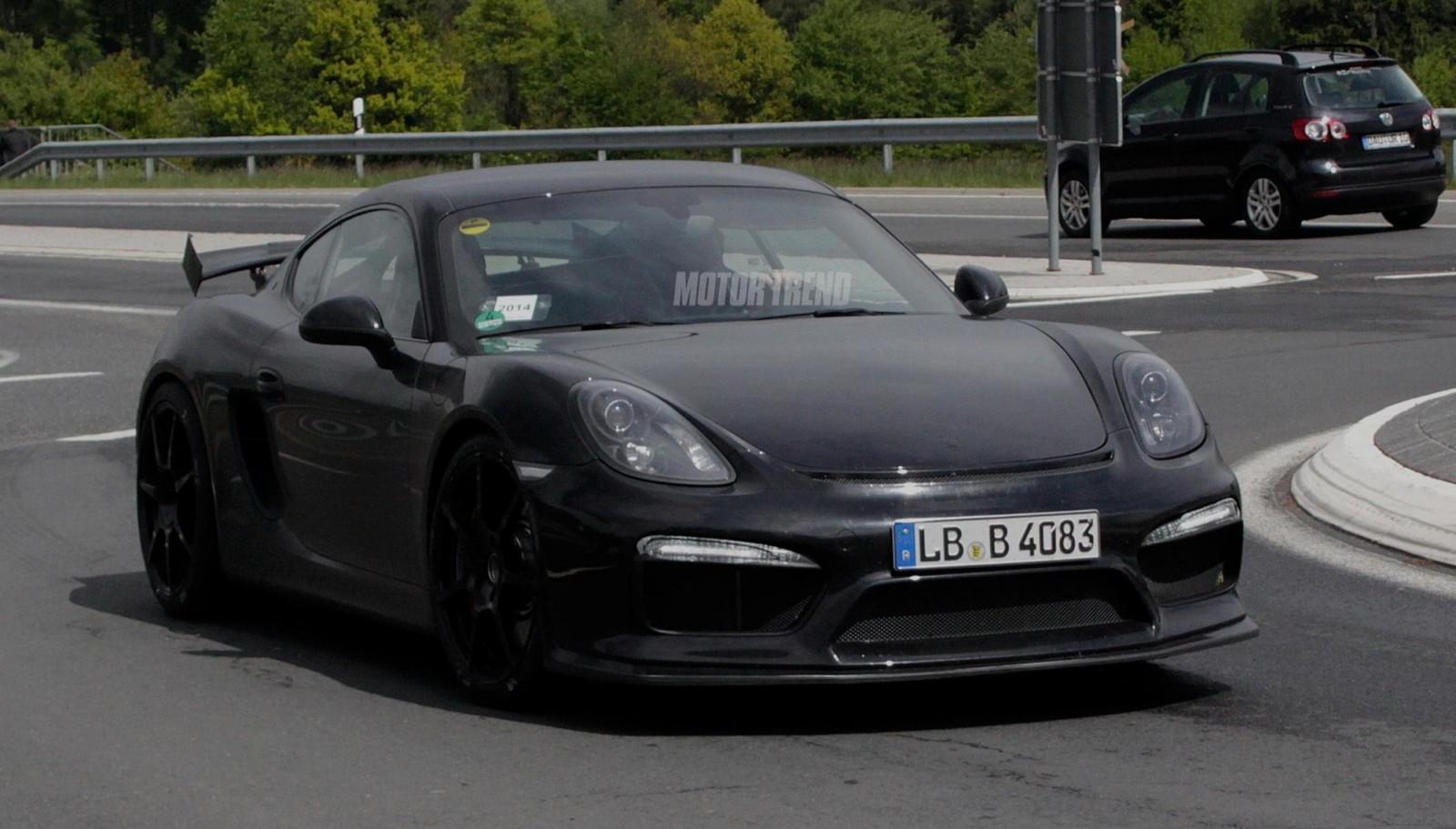 Παρουσίαση Porsche GT 4 Clubsport