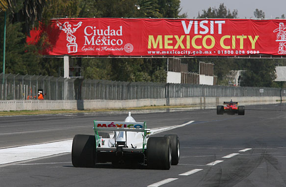 14.03.2008 Mexico City, Mexico, David Garza (MEX), driver of A1 Team Mexico - A1GP World Cup of Motorsport 2007/08, Round 8, Mexico City, Saturday Qualifying - Copyright A1GP Team Mexico - Copyright free for editorial usage