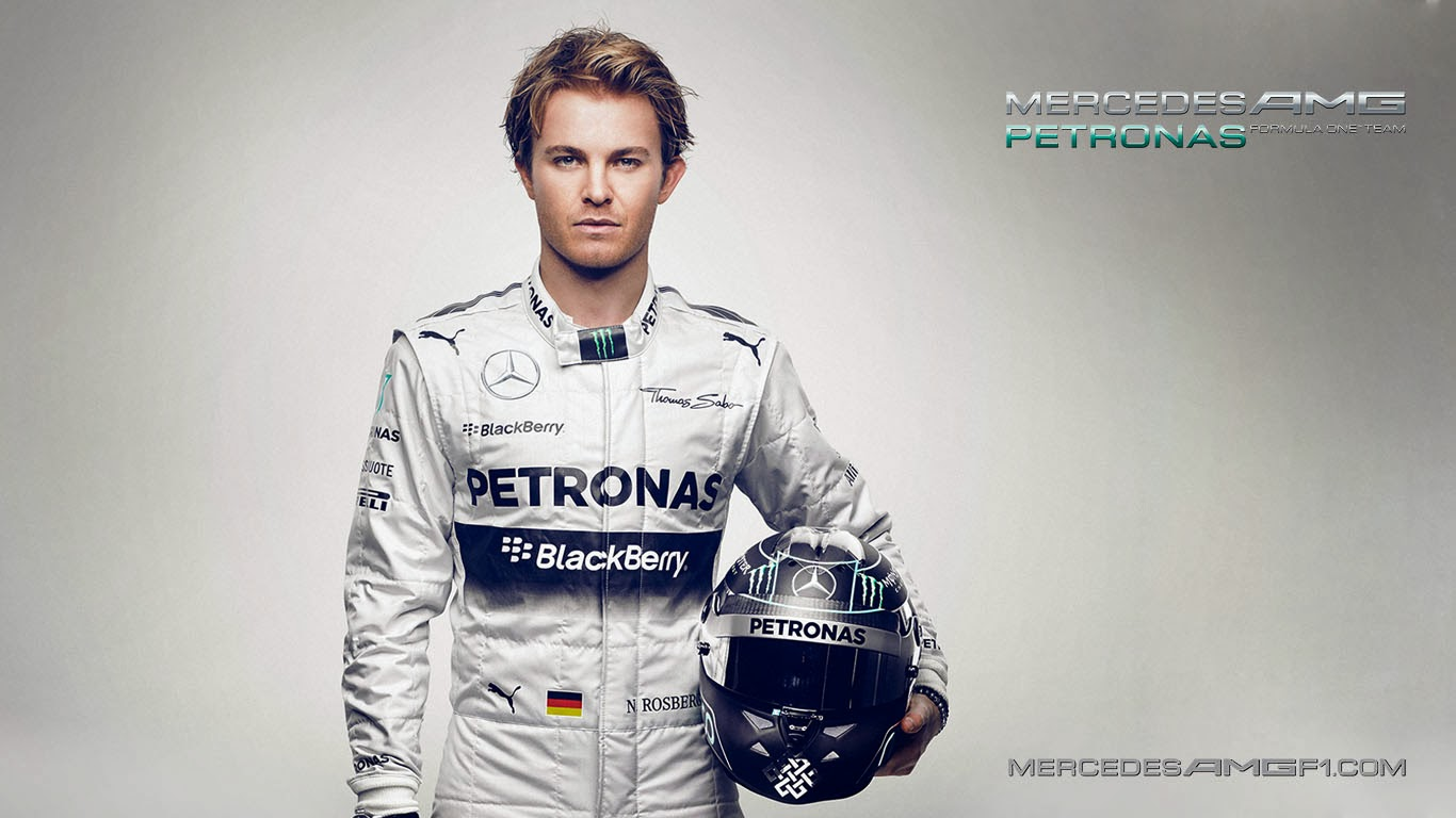 Nico+Rosberg+Mercedes+W05+2014+Wallpaper